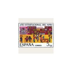 1979 Sellos de España. Año Internacional del Niño. **