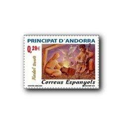 2006 Sellos Andorra Español. Navidad (Edif.342)**
