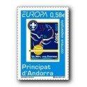 2007 Sellos Andorra Español. Europa (Edif.346)**
