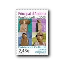 2007 Sellos Andorra Español. Patrimonio Cultural (Edif.347)**