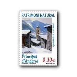 2007 Sellos Andorra Español. Patrimonio Natural (Edif.345)**