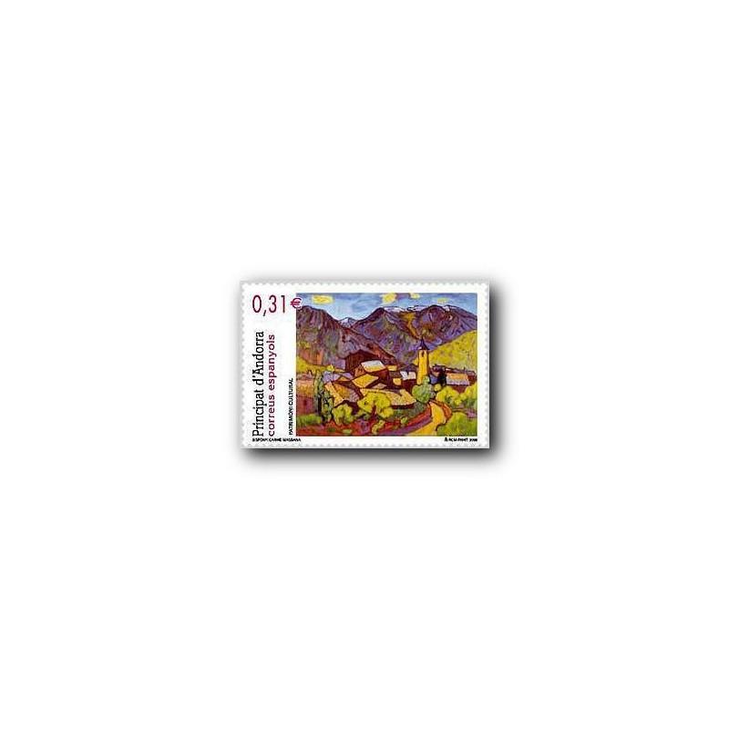 2008 Sellos Andorra Español. Patrimonio Cultural (Edifil 360)**