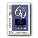 2009 Sellos Andorra Español. Consejo de Europa (Edifil 365)**
