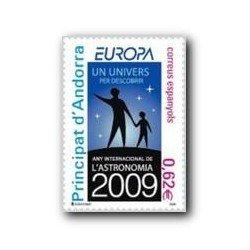 2009 Sellos Andorra Español. Europa (Edifil 366)**
