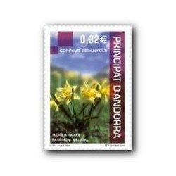 2009 Sellos Andorra Español. Patrimonio Natural (Edifil 362)**
