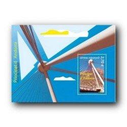 2009 Sellos Andorra Español. Puente de Madrid (Edifil 367)**
