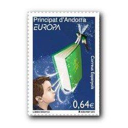 2010 Sellos Andorra Español. (Edifil 375). Europa **