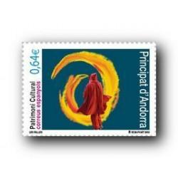 2010 Sellos Andorra Español. (Edifil 376). Patrimonio Cultural **