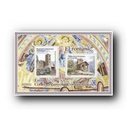 2010 Sellos Andorra Español. (Edifil 380). El Románico **