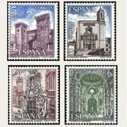 1979 Sellos de España (2527/30). Paisajes y Monumentos.