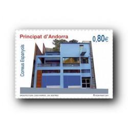 2011 Sellos Andorra Español. (Edifil 383). Europa **