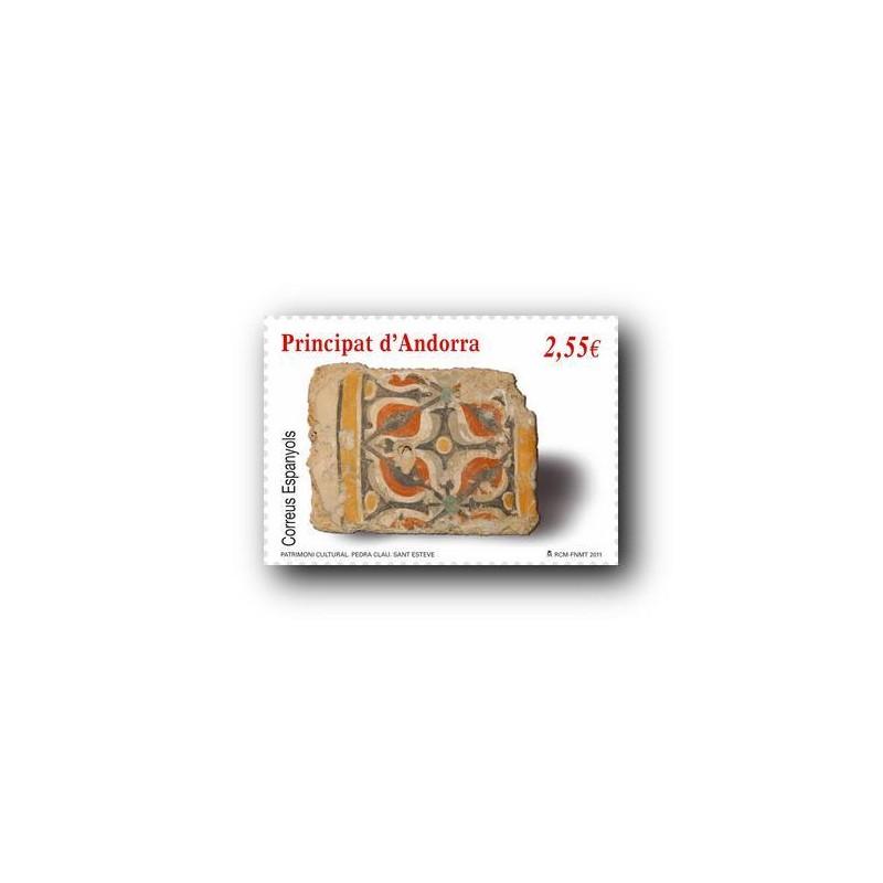 2011 Sellos Andorra Español. (Edifil 384). Arquitectura **