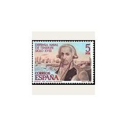 1979 Sellos de España (2536). Defensa Naval de Tenerife.