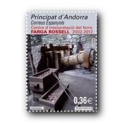 2011 Sellos Andorra Español. (Edifil 390). Navidad **