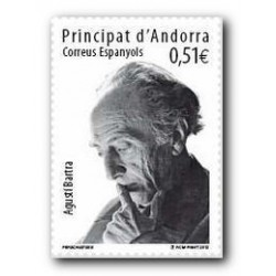 2012 Sellos Andorra Español. (Edifil 391). Efemérides **