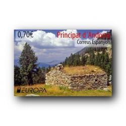 2012 Sellos Andorra Español. (Edifil 393). Europa **