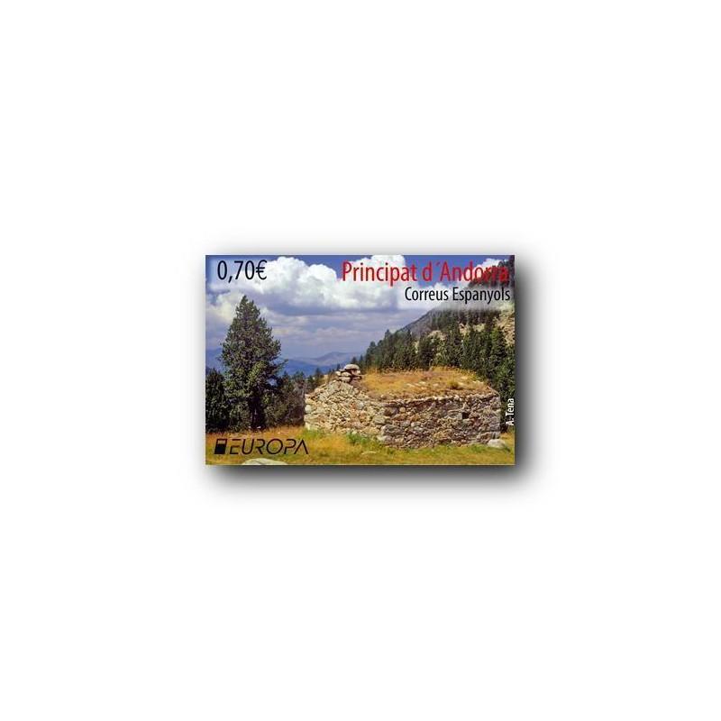 2012 Sellos Andorra Español. (Edifil 392). Personajes **