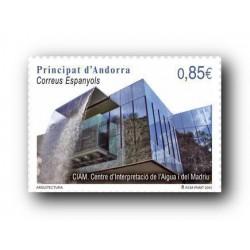 2012 Sellos Andorra Español. (Edifil 394). Arquitectura **