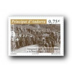2013 Sellos Andorra Español. (Edifil 401). Personajes **