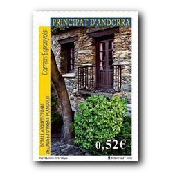 2013 Sellos Andorra Español. (Edifil 402). Efemérides **