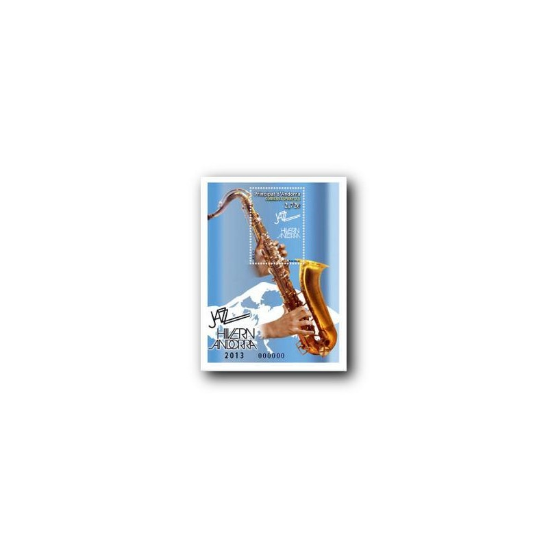 2013 Sellos Andorra Español. (Edifil 403). Patrimonio Cultural **