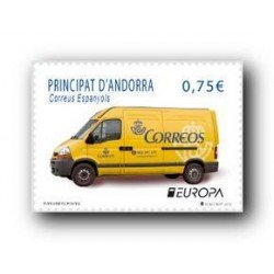 2013 Sellos Andorra Español. (Edifil 405). Europa **