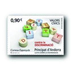 2013 Sellos Andorra Español. (Edifil 408). Correspondencia Epistolar **