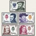 1979 España. Reyes de España. Casa de Austria. Edif.2552/56 **