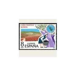 1979 Sellos de España (2557). II Año Oleico Internacional.