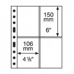 Hojas GRANDE 2C Leuchtturm para Billetes (5 unds.)