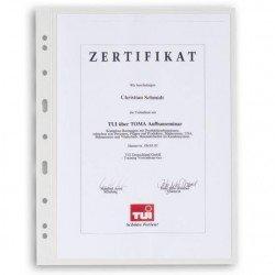 Hojas transparentes VARIO 1C Leuchtturm para billetes y documentos (5 uds.)