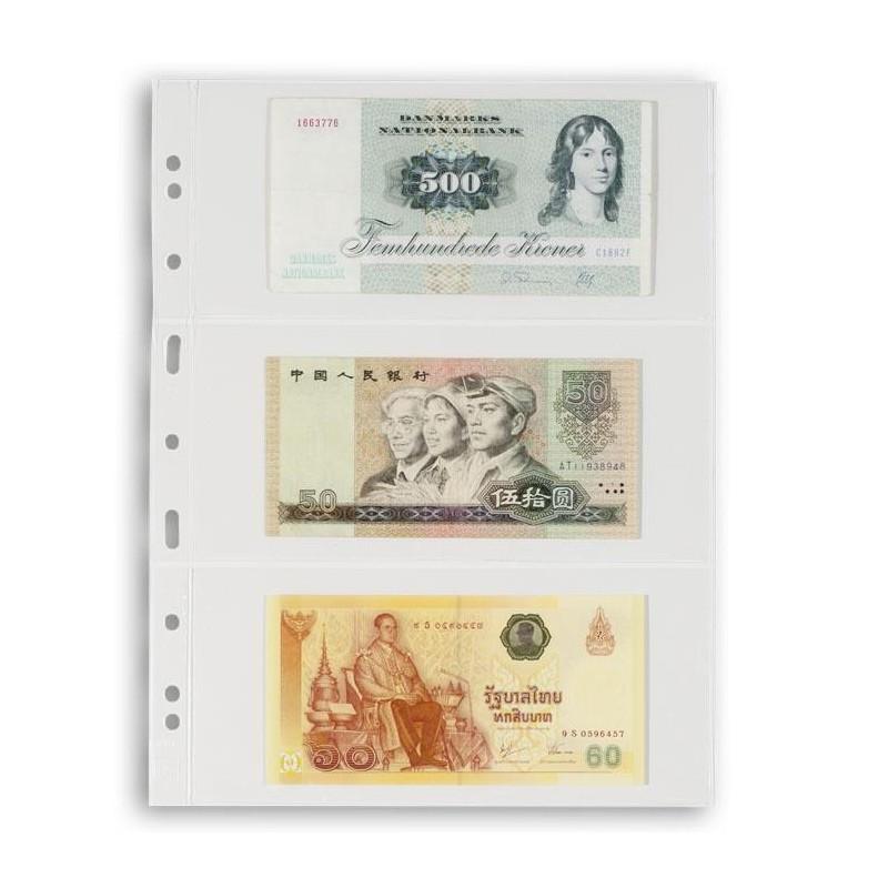 Hojas VARIO 3C Leuchtturm para billetes (5 uds.)