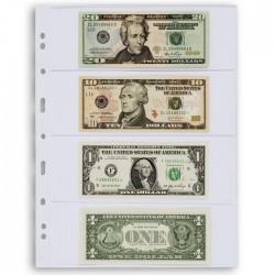 Hojas transparentes VARIO 4C Leuchtturm para billetes (5 uds.)