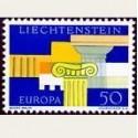 1963 Liechtenstein. Europa CEPT (Yver.381) **