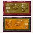 1980 Malta. Europa CEPT (Yver.603/04) **