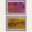 1979 Yugoslavia. Europa CEPT (Yver.1663/64) **