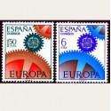 1967 España. Europa CEPT. Edif.1795/96 **