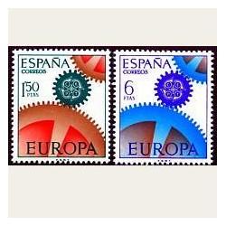 1967 España. Europa CEPT. 1795/96 **