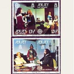 1980 Jersey. Europa CEPT (Yver.213/16) **