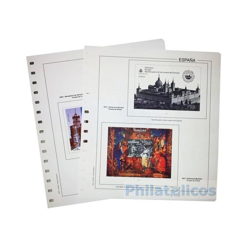 Suplemento Anual Edifil España Pruebas 2012