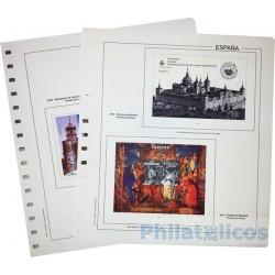 Suplemento Anual Edifil España Pruebas y Hojitas 150º Aniv. del Sello 2000