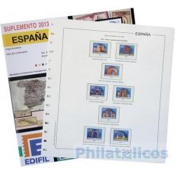 Suplemento Anual Edifil España Sellos Cortados Procedentes de H.B. 2013