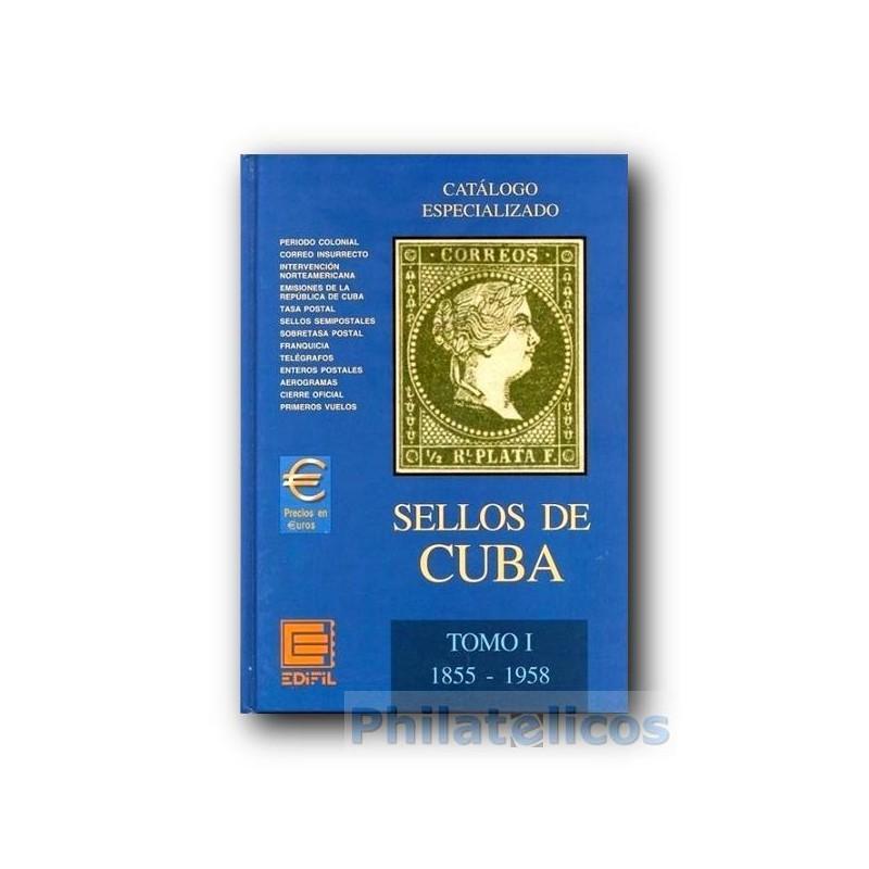 Catálogo de Sellos Edifil Cuba Especializado 1855/1958