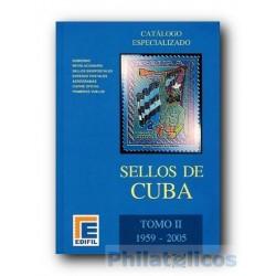 Catálogo de Sellos Edifil Cuba Especializado 1959/2005