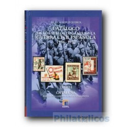 Catálogo de Sellos Locales de la Guerra Civil Española Tomo I