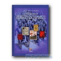 Catálogo de Sellos Locales de la Guerra Civil Española Tomo III