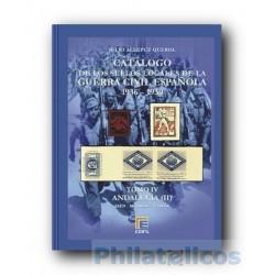 Catálogo de Sellos Locales de la Guerra Civil Española Tomo IV