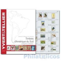 Catálogo de Sellos Yvert et Tellier América del Sur