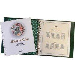 Álbum de sellos de España 1986/1990 (con filoestuches)