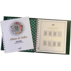 Álbum de sellos de España 1991/1995 (con filoestuches)
